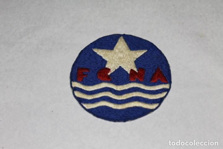 FEDERACIÓN CATALANA DE NATACIÓN, 1920-30, PARCHE BORDADO (Coleccionismo Deportivo - Pins otros Deportes)