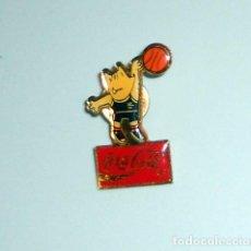 Coleccionismo deportivo: PIN BADGE JUEGOS OLÍMPICOS BARCELONA 92 OLYMPIC GAMES - COBI - COCA COLA - BALONCESTO BASKETBALL. Lote 206526857