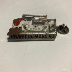 Coleccionismo deportivo: PINS INSIGNIA DE 24 HORAS DE LE MANS 1992 GRAN TURISMO FRANCIA. Lote 208875096