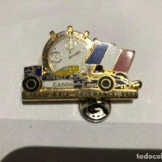 Coleccionismo deportivo: PINS INSIGNIA DE 1992 GRAN PRIX PREMIO DE FRANCIA 92. Lote 208876945