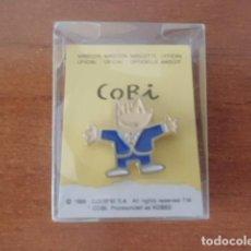 Coleccionismo deportivo: PIN COBI BARCERLONA 92.NUEVO.. Lote 209026162