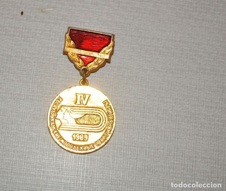INSIGNIA SOVIETICA.SPARTACIADA 1989 A.URSS (Coleccionismo Deportivo - Pins otros Deportes)