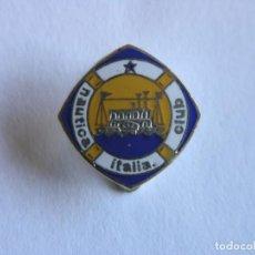Coleccionismo deportivo: PIN NÁUTICA CLUB ITALIA - AÑOS 50-60. Lote 209598948
