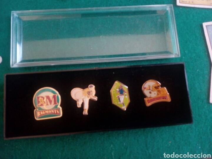 CAJA ORIGINAL CON 4 PINS COLE BAGMONTS (Coleccionismo Deportivo - Pins otros Deportes)