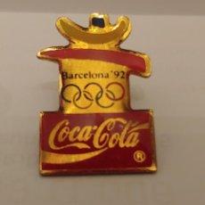 Coleccionismo deportivo: PIN COCA COLA 92. Lote 212172811