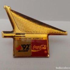 Coleccionismo deportivo: PIN COCA COLA 92. Lote 212173151