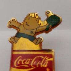 Coleccionismo deportivo: PIN COCA COLA 92. Lote 212173526