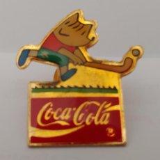 Coleccionismo deportivo: PIN COCA COLA 92. Lote 212173898