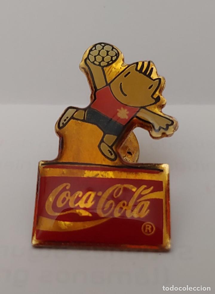 PIN COCA COLA 92 (Coleccionismo Deportivo - Pins otros Deportes)