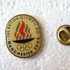 Coleccionismo deportivo: PIN DE DEPORTES. JUEGOS OLÍMPICOS MANCHESTER 2000 CIUDAD CANDIDATA. CANDIDATURA FALLIDA. Lote 214038872