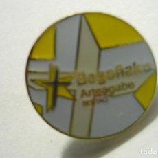 Coleccionismo deportivo: PIN BEGOÑAKO.-SESTAO. Lote 214310101