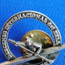 Colecionismo desportivo: PIN DESCENCESO INTERNACIONAL DEL ESLA- ENDES-PIRAGUA. Lote 214340365