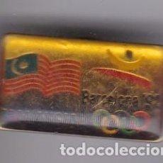 Coleccionismo deportivo: PIN DEL COMITE OLIMPICO DE MALASIA DE LAS OLIMPIADAS DE BARCELONA 92 (OLYMPIC GAMES). Lote 217252908