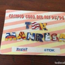 Colecionismo desportivo: PIN TDK MANRESA. Lote 215751000