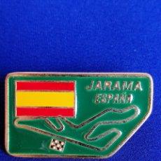 Coleccionismo deportivo: PIN -MOTOCICLISMO -JARAMA ESPAÑA. Lote 217718183