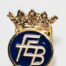Colecionismo desportivo: PIN FEDERACIÓN ESPAÑOLA DE BOXEO. OLIMPIADAS.. Lote 220441946