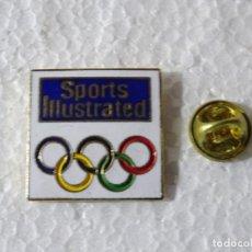 Colecionismo desportivo: PIN DE DEPORTES. JUEGOS OLÍMPICOS OLIMPIADAS. REVISTA SPORTS ILLUSTRATED. Lote 220892462