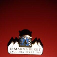 Coleccionismo deportivo: 3 PINS MARXA BERET - EDICIONES 17,18 Y 19. Lote 222298417