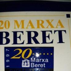 Coleccionismo deportivo: 2 PINS MARXA BERET EDICIONES 20 Y 21. Lote 222299407