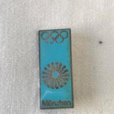 Coleccionismo deportivo: INSIGNIA DE AGUJA OLIMPIADA MUNICH MUNCHEN 1972.. Lote 222542663