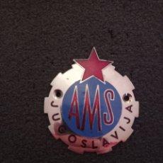 Coleccionismo deportivo: INSIGNIA AMS - AUTO MOTO SAVEZ. Lote 231087785