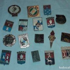 Coleccionismo deportivo: 18 INSIGNIAS DIVERSAS DE RUSIA CCCP ENTRE OTRAS DIFERENTES AÑOS. Lote 235705185