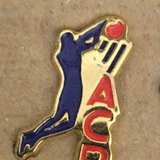 Coleccionismo deportivo: PIN ACB. Lote 244439315