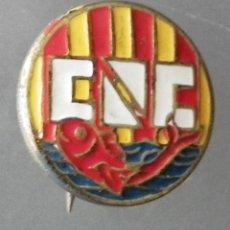 Coleccionismo deportivo: ANTIGUO PIN DE AGUJA DEL CLUB NATACIÓ CATALUNYA - C.N.C. Lote 245994005