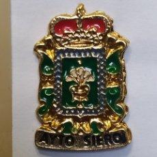 Coleccionismo deportivo: INSIGNIA HERÁLDICOS. SIERO. ASTURIAS. Lote 261986595