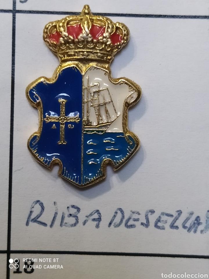 INSIGNIA HERÁLDICOS RIBADESELLA.ASTURIAS (Coleccionismo Deportivo - Pins otros Deportes)