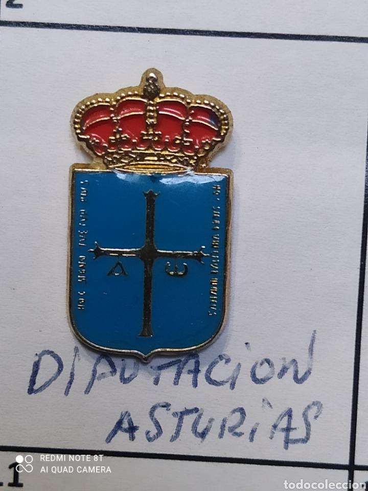 INSIGNIA HERÁLDICOS. DIPUTACIÓN ASTURIAS (Coleccionismo Deportivo - Pins otros Deportes)