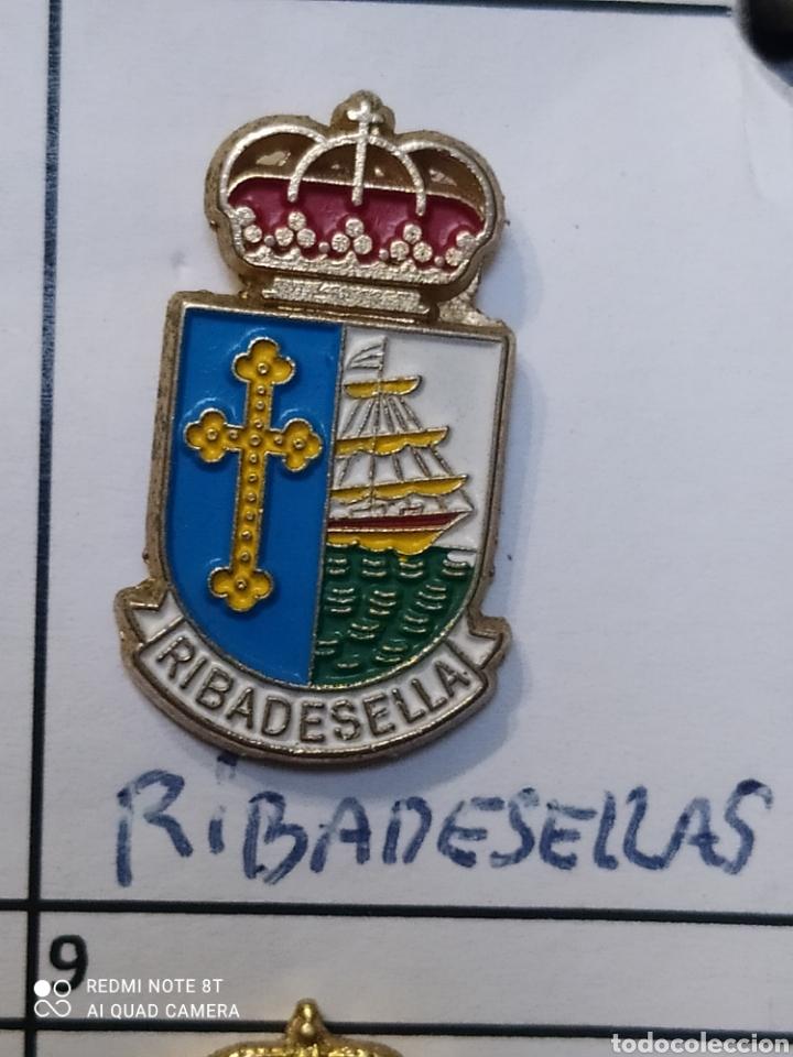INSIGNIA HERÁLDICOS RIBADESELLA ASTURIAS (Coleccionismo Deportivo - Pins otros Deportes)