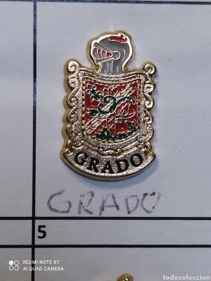 INSIGNIA HERÁLDICOS GRADO ASTURIAS (Coleccionismo Deportivo - Pins otros Deportes)