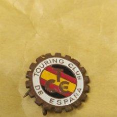 Coleccionismo deportivo: INSIGNIA DE MOTOR. INSIGNIA TOURING CLUB DE ESPAÑA. Lote 262198150