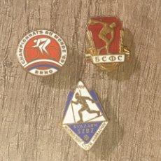 Collezionismo sportivo: LOTE INSIGNIAS ESMALTADAS. Lote 262920715