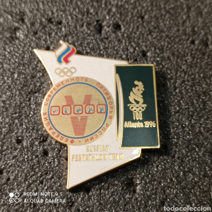 PIN RUSSIAN PENTATHLON TEAM - ATLANTA 1996 (Coleccionismo Deportivo - Pins otros Deportes)