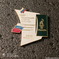 Coleccionismo deportivo: PIN RUSSIAN ROWING TEAM - ATLANTA 1996. Lote 266154253