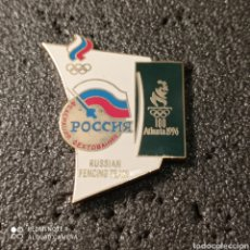 Coleccionismo deportivo: PIN RUSSIAN FENCING TEAM - ATLANTA 1996. Lote 266154463