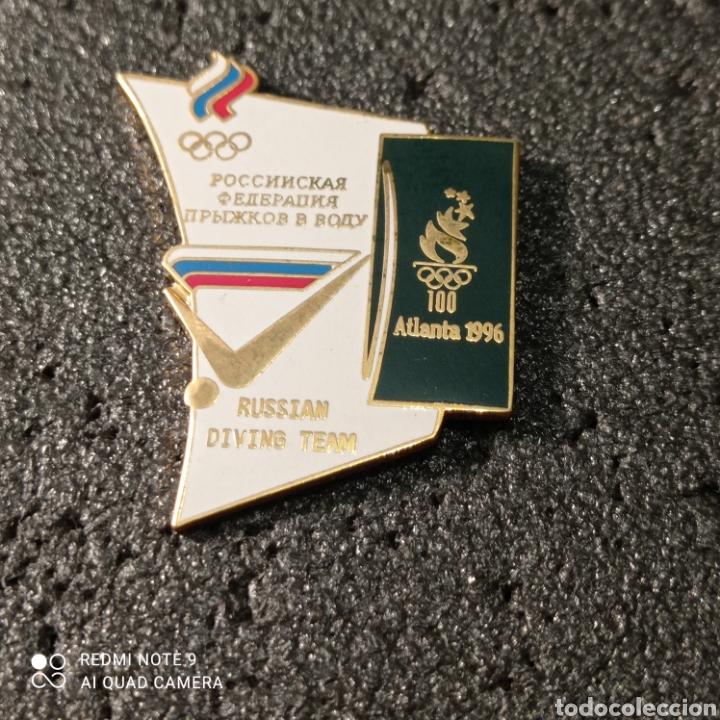 PIN RUSSIAN DIVING TEAM - ATLANTA 1996 (Coleccionismo Deportivo - Pins otros Deportes)