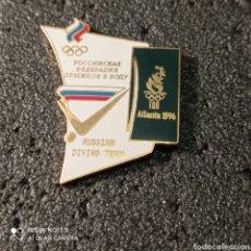Coleccionismo deportivo: PIN RUSSIAN DIVING TEAM - ATLANTA 1996. Lote 266154688