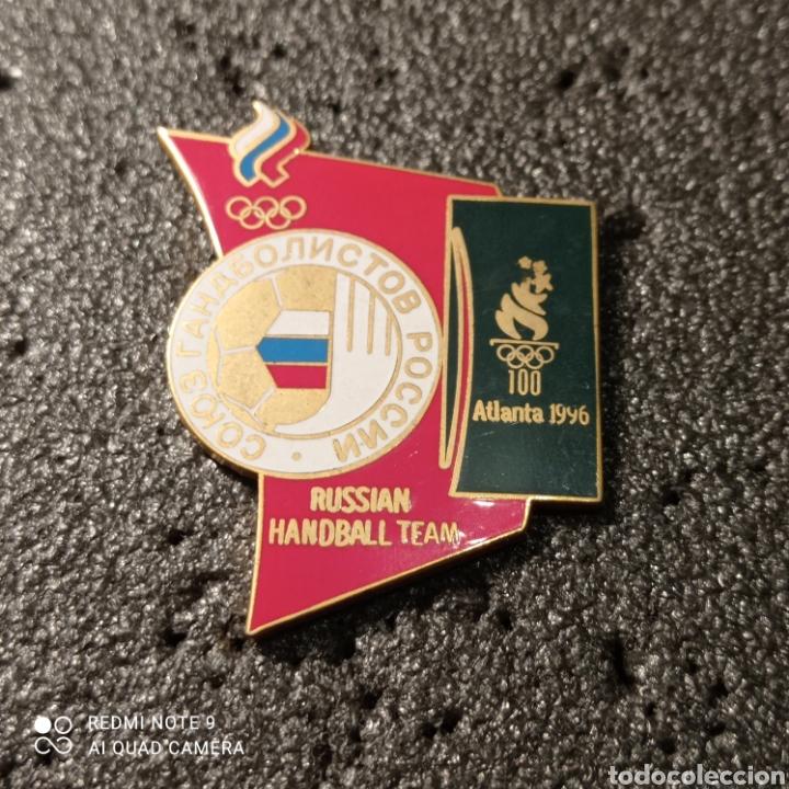 PIN RUSSIAN HANDBALL TEAM - ATLANTA 1996 (Coleccionismo Deportivo - Pins otros Deportes)