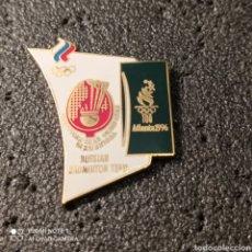 Coleccionismo deportivo: PIN RUSSIAN BADMINTON TEAM - ATLANTA 1996. Lote 266155038