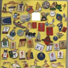 Coleccionismo deportivo: LOTE - MAS DE DE 74 PINS,TEMA DE DEPORTES. Lote 267768199