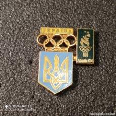Coleccionismo deportivo: PIN COMITE OLIMPICO DE UCRANIA. Lote 268874544