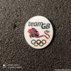 Coleccionismo deportivo: PIN COMITE OLIMPICO DE GRAN BRETAÑA. Lote 268877829