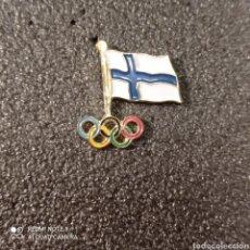 Coleccionismo deportivo: PIN COMITE OLIMPICO DE FINLANDIA. Lote 268877949