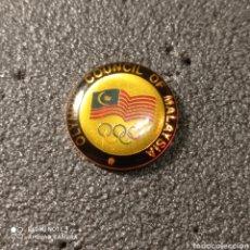 Coleccionismo deportivo: PIN COMITE OLIMPICO DE MALASIA. Lote 268879549