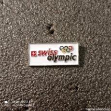 Coleccionismo deportivo: PIN COMITE OLIMPICO DE SUIZA. Lote 268879649