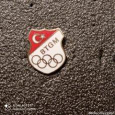 Coleccionismo deportivo: PIN COMITE OLIMPICO DE TURQUÍA. Lote 268879709