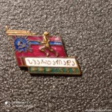 Coleccionismo deportivo: PIN ESPARTAQUI - JUEGOS DEPORTIVOS EN GEORGIA ( DURANTE LA URSS). Lote 268880889